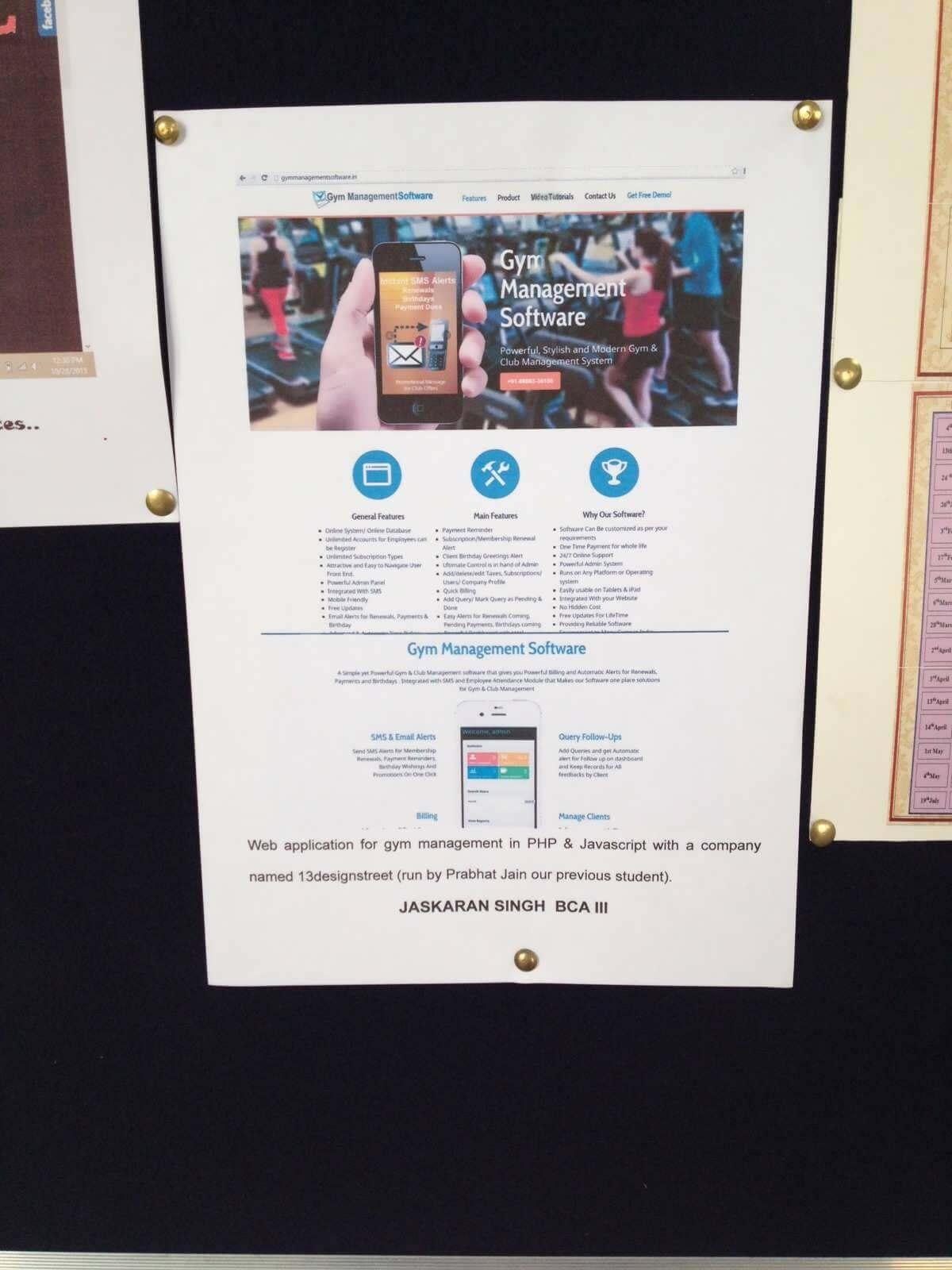 13designstreet creative web solutions for Gym design software