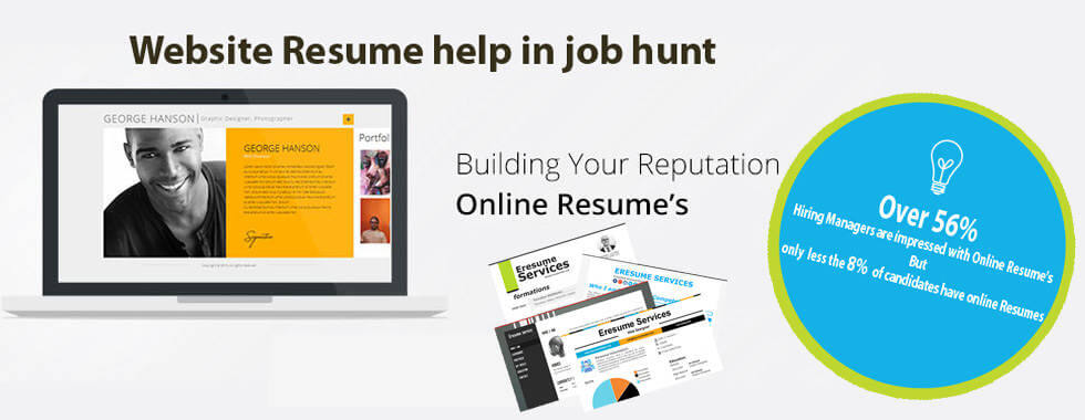 resume portfolio website